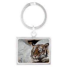 Tiger029 Landscape Keychain