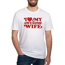 I Love My Awesome Wife Shirt