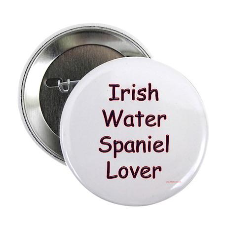 Water Spaniel Lover Button