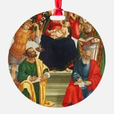 Madonna and Child with Saints and A Ornament