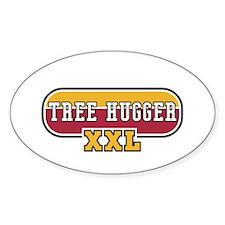 Tree Hugger Sport Oval Decal