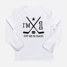 1 Year Old Hockey Long Sleeve Infant T-Shirt