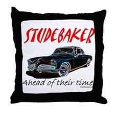 Studebaker-Ahead of Their Time- Throw Pillow