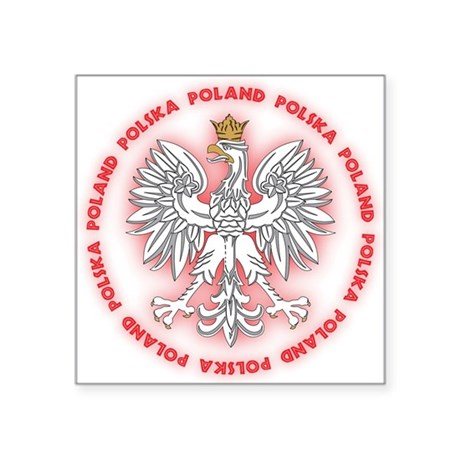 Polish White Eagle C2 Oval Sticker
