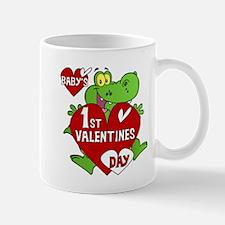 Crocodile 1st Valentines Day Mug