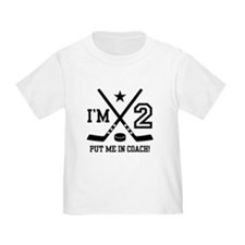 2 Year Old Hockey T