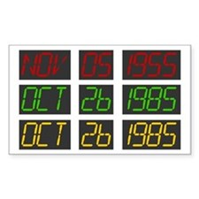 Back To The Future Dashboard Decal