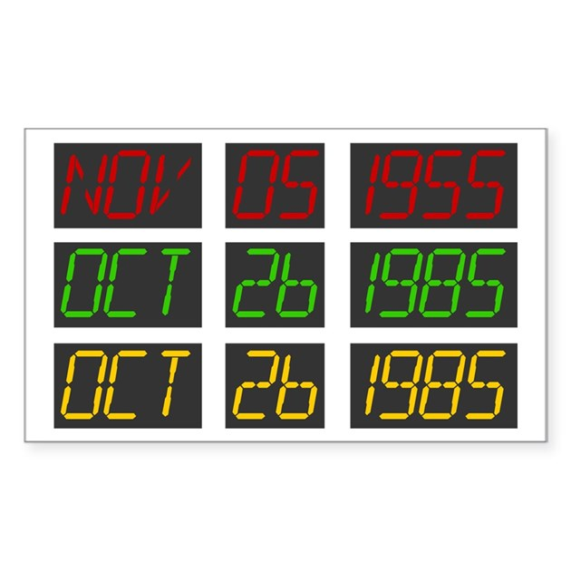 back to the future dashboard decal by bttfdates. Black Bedroom Furniture Sets. Home Design Ideas