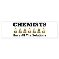 All the Solutions Bumper Car Sticker