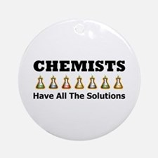 All the Solutions Ornament (Round)