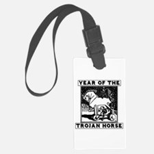 Year of the Trojan Horse Luggage Tag