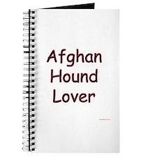 Afghan Lover Journal