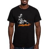 Dirt bike Fitted T-shirts (Dark)