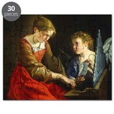 Saint Cecilia and an Angel Puzzle