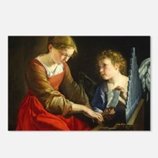 Saint Cecilia and an Ange Postcards (Package of 8)