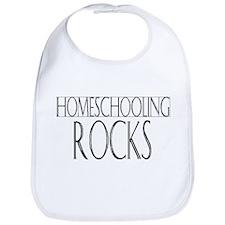Homeschooling Rocks Bib