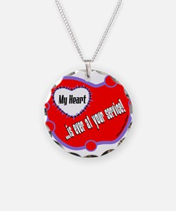 Ever At Your Service-Shakespeare Necklace
