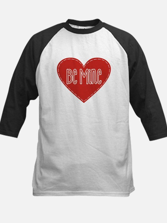 Be Mine Valentines Day Heart Baseball Jersey