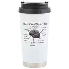 Cute Social worker Thermos Mug
