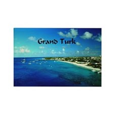 Grand Turk  Rectangle Magnet