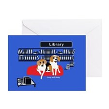 Library Dogs Greeting Cards (Pk of 20)