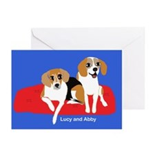Lucy and Abby Greeting Cards