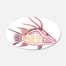 Tribal Hogfish Wall Decal