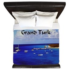 Grand Turk Sailboats King Duvet
