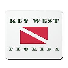 Key West Florida Dive Mousepad
