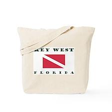 Key West Florida Dive Tote Bag
