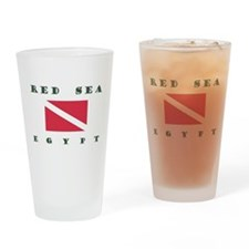 Red Sea Dive Drinking Glass