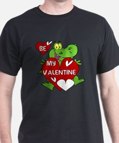 Crocodile Be My Valentine T-Shirt
