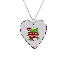 Crocodile Be My Valentine Necklace