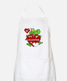 Crocodile Be My Valentine Apron