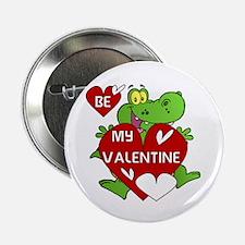 "Crocodile Be My Valentine 2.25"" Button"