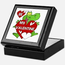 Crocodile Be My Valentine Keepsake Box