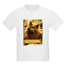 Vintage Russian Blue Cat T-Shirt