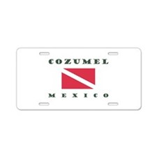 27 - Cozumel Dive Aluminum License Plate