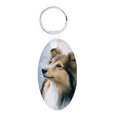 Dog 122 Sheltie Collie Keychains