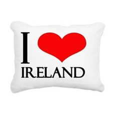 i love ireland Rectangular Canvas Pillow