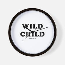 Wild Child / Baby Humor Wall Clock