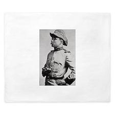Teddy Roosevelt King Duvet