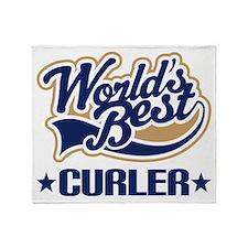 Curler (Worlds Best) Throw Blanket