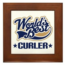 Curler (Worlds Best) Framed Tile