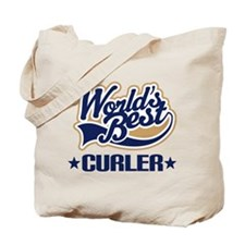 Curler (Worlds Best) Tote Bag