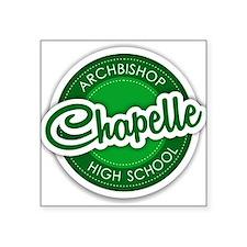 Archbishop Chapelle High School Logo Sticker