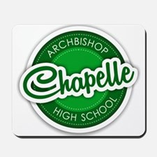 Archbishop Chapelle High School Logo Mousepad