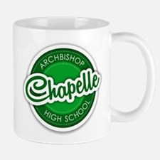 Archbishop Chapelle High School Logo Mugs