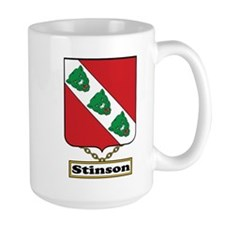 Stinson Family Crest Mugs