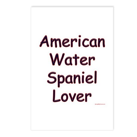 Water Spaniel Lover Postcards (Package of 8)